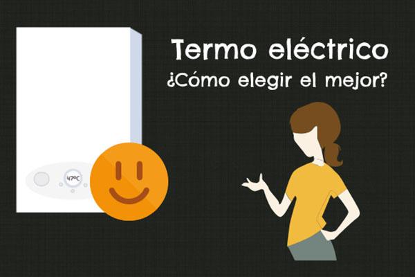 Comparativa de termos eléctricos